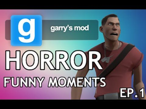 Gmod Horror Funny Moments - Jump Scares + Aggro Spiders (Garry's Mod Horror map)  I can not believe it has taken me until now to start playing Gmod! This game is so much fun it is ridiculous. Take a look at my first ever horror map on Garry's Mod! So jumpy.  Gmod Horror Map Funny Moments - Garry's Mod - Jump Scares + Aggro Spiders.