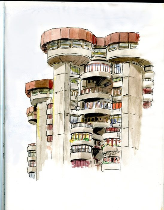 """Torres Blancas"", Madrid"