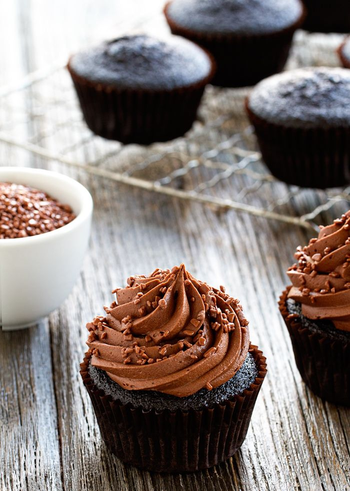 chocolate cupcakes | Recipe | Your life, Frostings and Chocolate ...