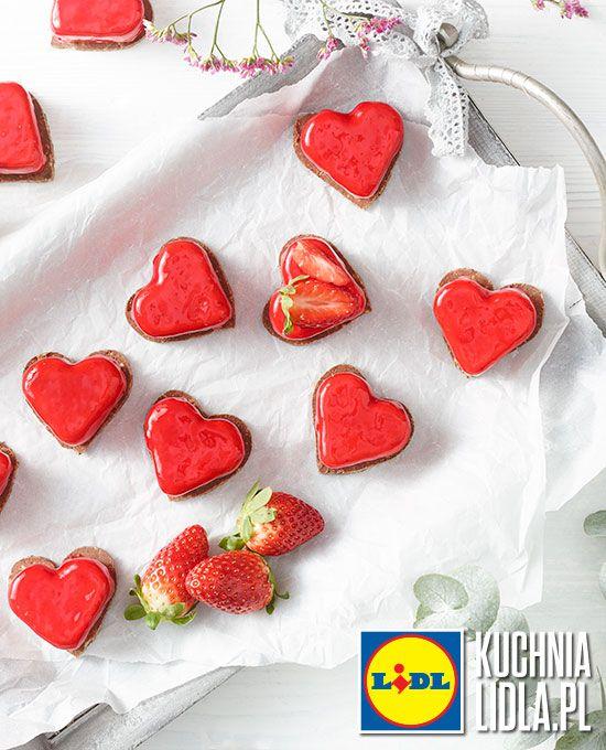 Malinowe serduszka. Kuchnia Lidla - Lidl Polska. #pawelmalecki