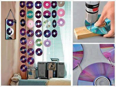 Old CD Room Decor #upcycling