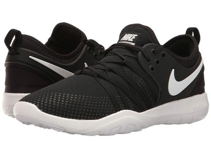 Nike Free TR 7 Women's Cross Training Shoes Black/White