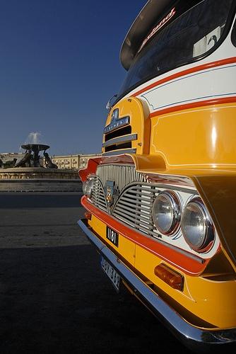 Maltese Bus in Florianna