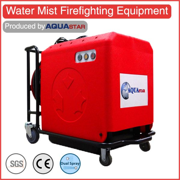 CE approved water mist fire extinguisher better than abc chemical extinguishers