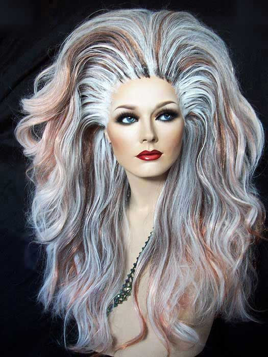 Rooted Mixed Blonde Drag Queen Wig I Know It S Crazy But