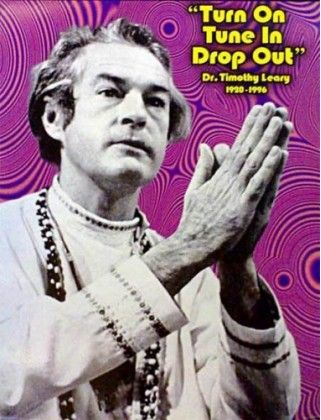 """Turn on, tune in, drop out"" is a counterculture-era phrase popularized by Timothy Leary. In 1967 Leary spoke at the Human Be-In, a gathering of hippies in Golden Gate Park in San Francisco and uttered the famous phrase. It was the title of his spoken word album. One can hear Leary speaking in a monotone, soft-spoken voice on his views about the world and humanity and describing nature, Indian symbols, ""the meaning of inner life"", the LSD experience, peace and many other issues."