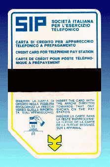 La prima scheda #telefonica (1976) #SIDA Zero