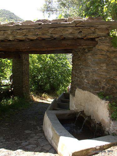 Lavadero de Fondales, Mecina Fondales   Comarca de La Alpujarra, Andalucía