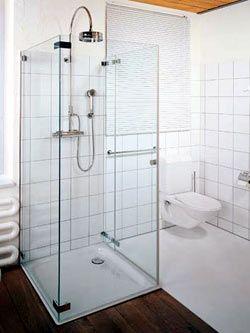 Sprchový kout v prostoru