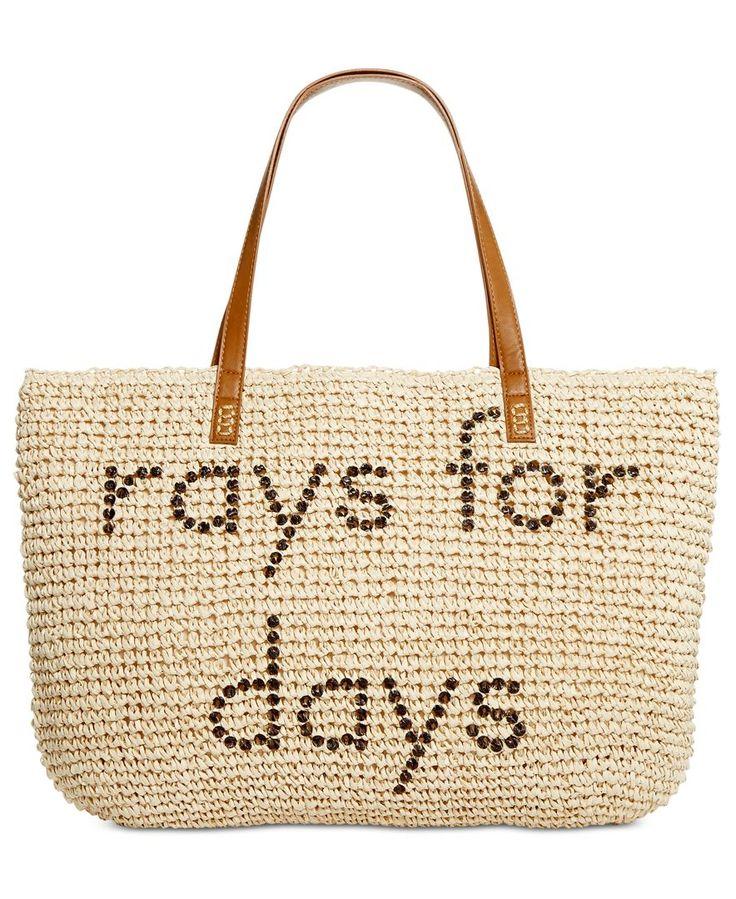 Best 25  Straw beach bags ideas on Pinterest