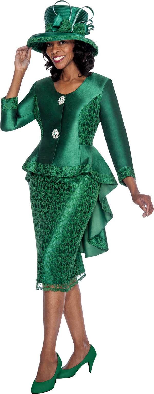 GMI G6012 Emerald - Womens Church Suits