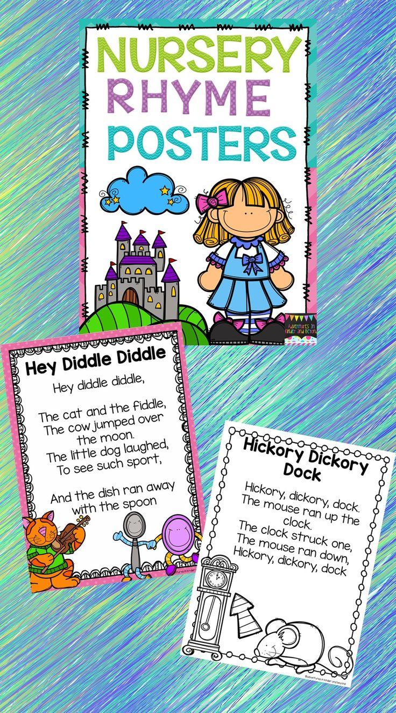 66 best Rhymes images on Pinterest | Rhyming activities, Preschool ...