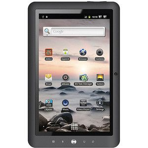 The Coby MID1125 is a Wi-Fi tablet that is suitable for those who love to read. This tablet is powered by Telechip Cortex A8 processor to enhance multitasking. The Coby tablet runs on Android 2.3 OS including e-book reader application to download thousands of books. The Wi-Fi connectivity in the Coby MID1125 lets you access high-speed internet to surf the web. The Coby tablet allows you to store files in the built-in 4 GB hard drive.