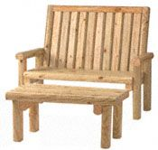 landscape timber furniture plans woodworking projects plans