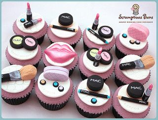 MAC MakeUp Cupcakes | by Scrumptious Buns (Samantha)