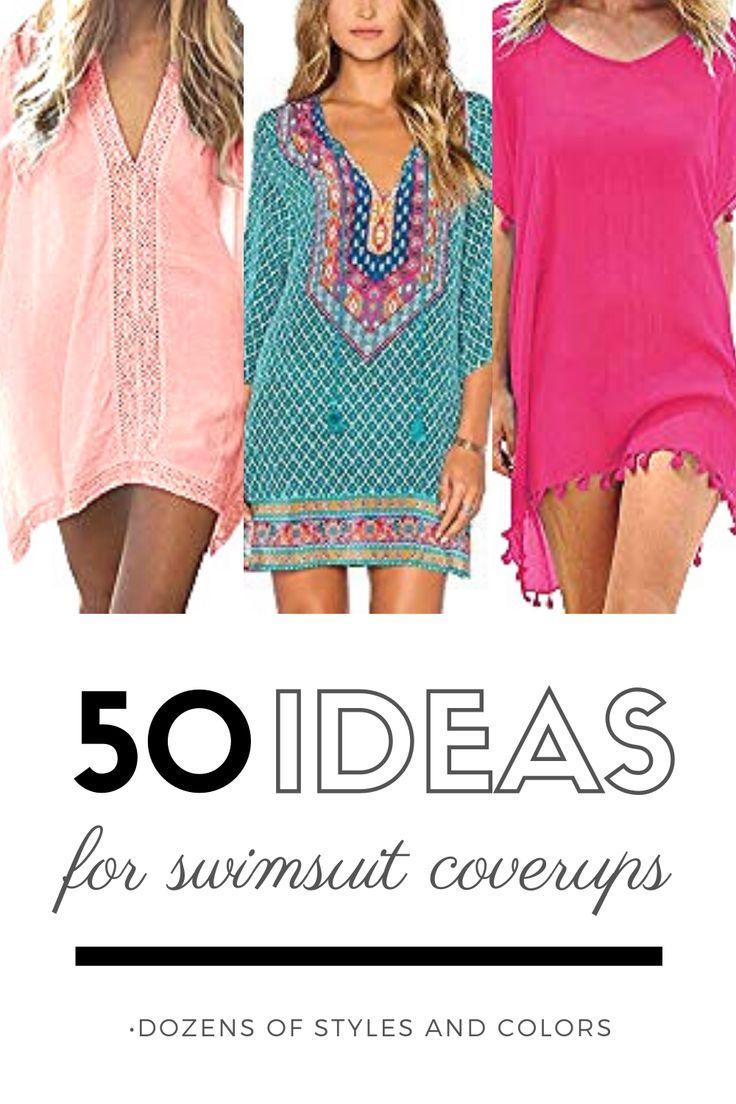 Beachwear For Women | Over 50 great swimsuit coverups for your next vacay |  Fashion, Beachwear for women, Beachwear fashion
