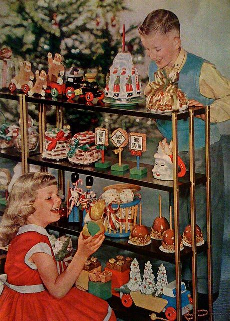 Retro Christmas Toy : Christmas goodies better homes gardens december