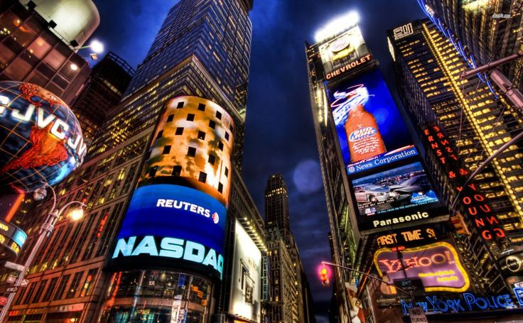 Times Square HD Wallpaper