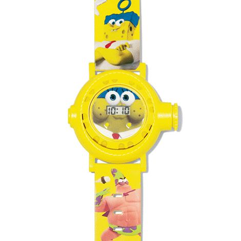 You will love this product from Avon: The SpongeBob Movie Projection Watch 14.99 Make a splash with SpongeBob! This super awesome watch projects 10 images of the characters from the 2015 SpongeBob movie on the big screen