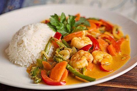 Wokgemüse mit Erdnusssoße und Scampi, ein sehr leckeres Rezept aus der Kategorie Gemüse. Bewertungen: 31. Durchschnitt: Ø 4,3.