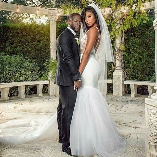 Kevin Hart weds Eniko. 8.13.16