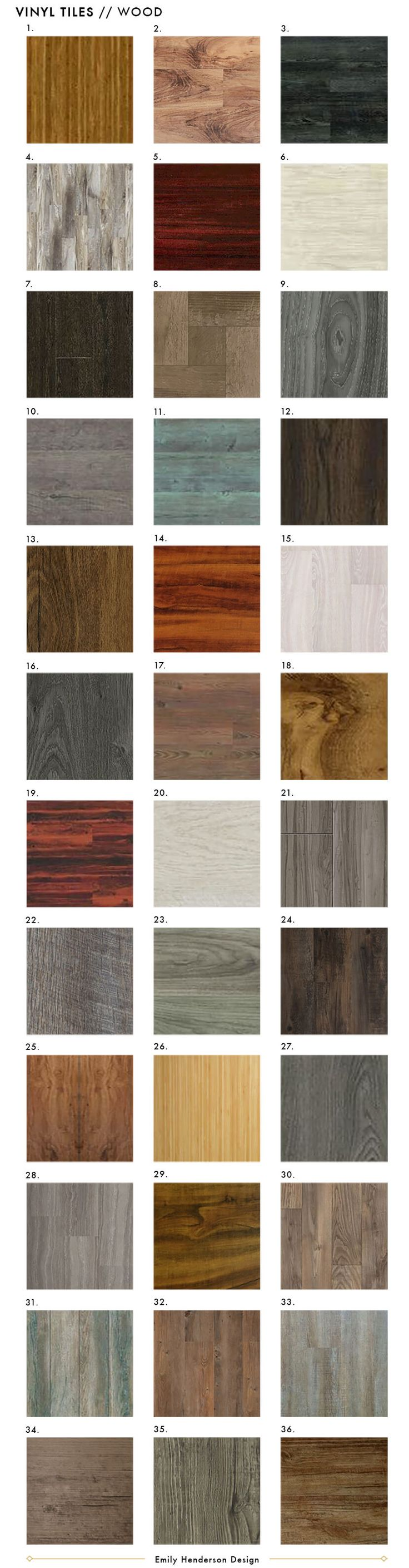 Best Affordable Faux Wood Vinyl Tile