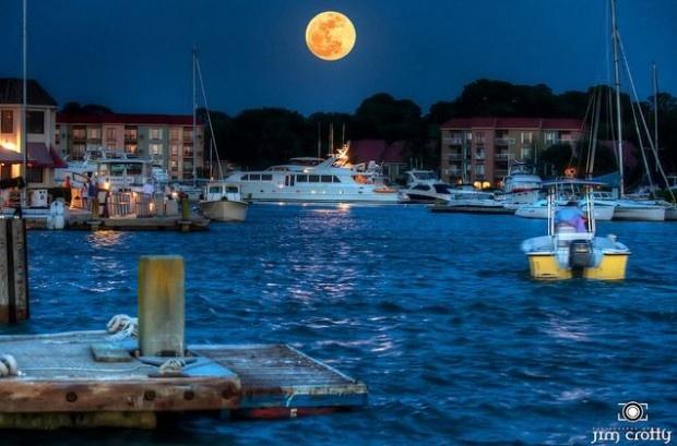 Supermoon Hilton Head Island