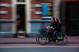 Cyclists, Bikers, Bicycles, Girls, Women