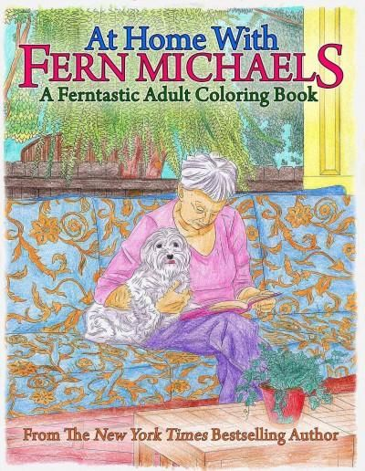 At Home With Fern Michaels: A Ferntastic Adult Coloring Book