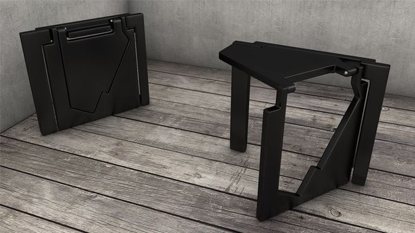 """ Rano "" folding stool by Serdar Sisman, via Behance"
