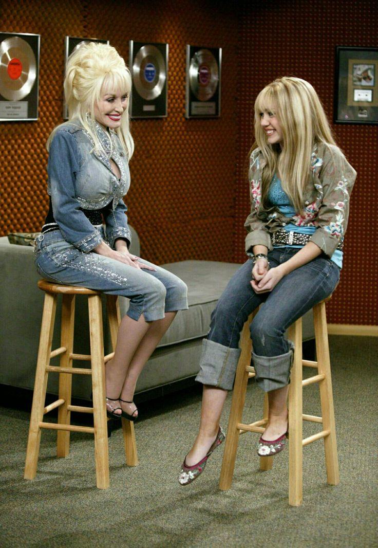 Hannah Montana and Dolly Parton
