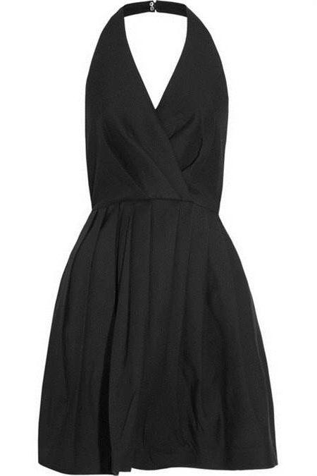 Cool Halter black dress 2018-2019
