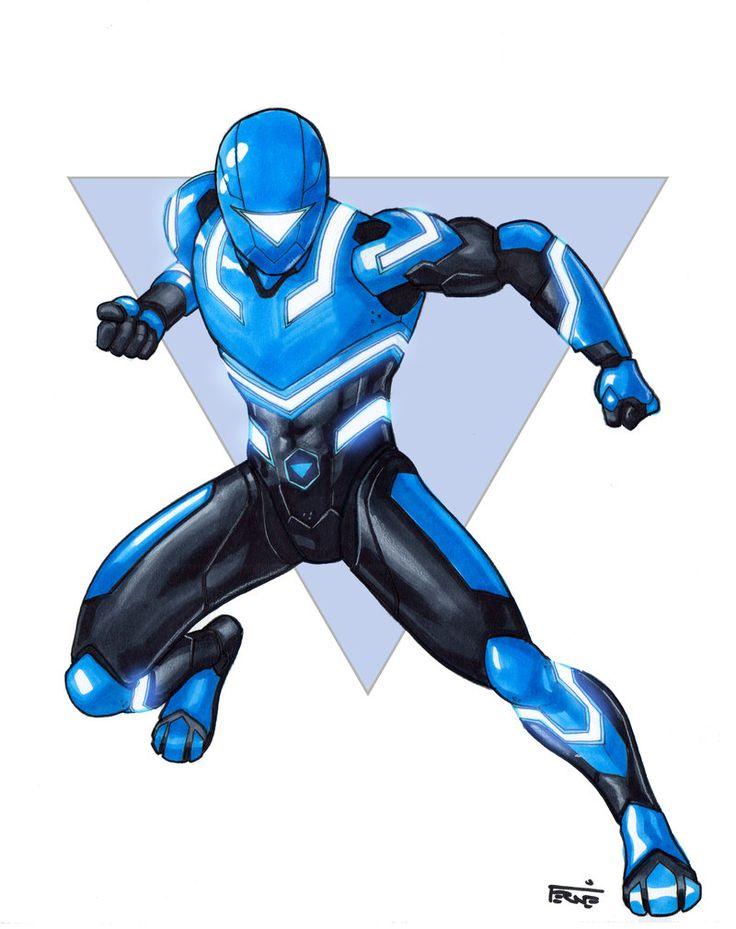 Blue Zeo Ranger Fan Art