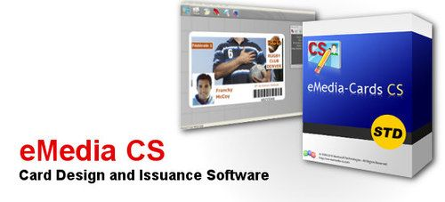 eMedia Card Designer PRO Edition (Connects to database) @Spec Systems - eMedia CS is a powerful yet easy-to use software which enable you to design, encode and print beautiful badges. #Evolis #Software