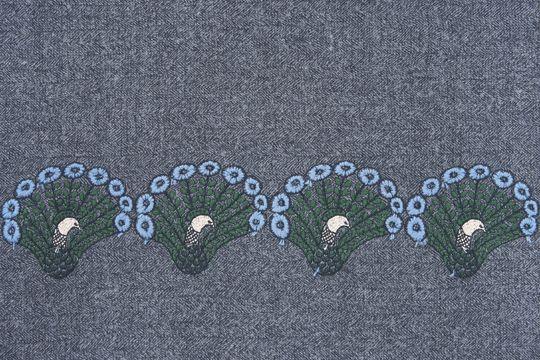 peacock: textile | minä perhonen