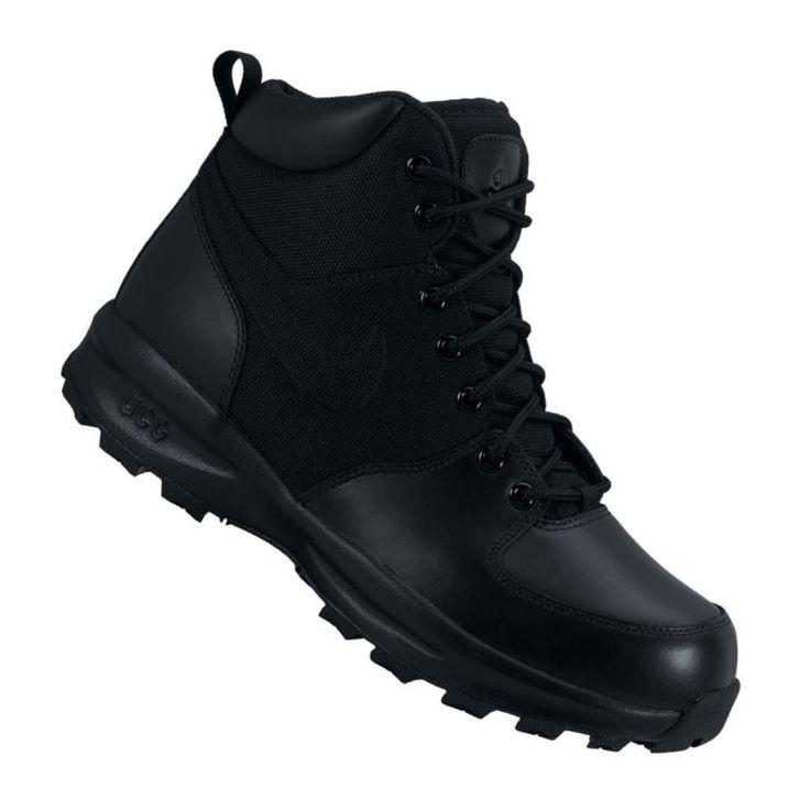 Buty Nike Manoa M 456975 001 Czarne Mens Nike Shoes Black Shoes Shoes