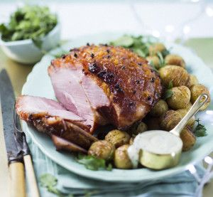 Marmalade Glazed Gammon with Hassle Potatoes #Pork #Recipe #SouthAfrica