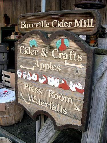 Burrville CIder Mill - fun Fall festivity!