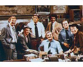 RON CAREY AS OFFICER CARL LEVITT, MAX GAIL AS DET. STAN 'WOJO' WOJCIEHOWICZ, RON GLASS AS DET. RON HARRIS, JAMES GREGORY AS POLICE…
