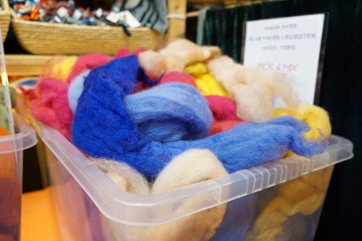 Wonderful hand-dyed wool.  http://www.brothersewing.co.uk/en_GB/