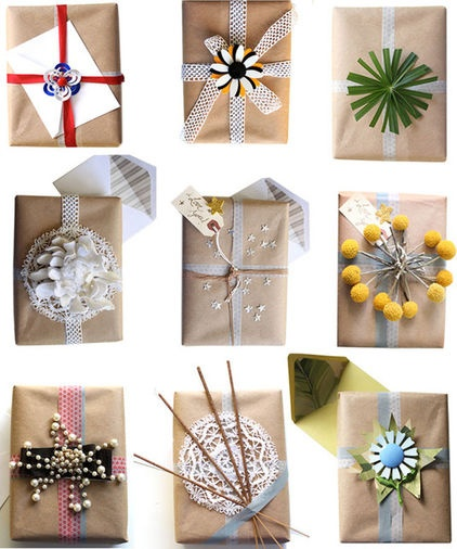 Cheap & Green Gift Wrapping Ideas