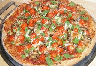 whole wheat veggie pizza | Recipes | Pinterest