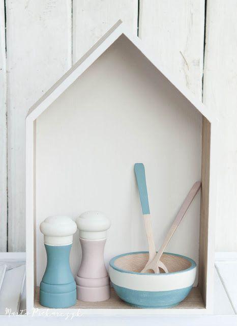 Wood&Crafts - kreatywne malowanie: Pastelowy komplet