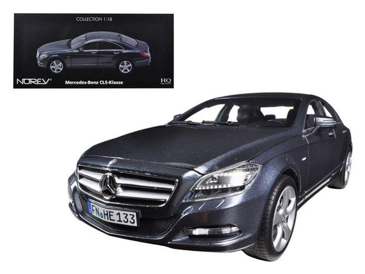2010 Mercedes CLS 350 Tenorit Grey 1/18 Diecast Car Model by Norev