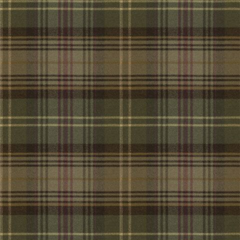 Huxley Plaid - Green - Plaids - Fabric - Products - Ralph Lauren Home - RalphLaurenHome.com