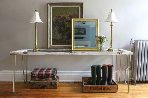 Стол из двери / Мебель / Своими руками - выкройки, переделка одежды, декор интерьера своими руками - от ВТОРАЯ УЛИЦА