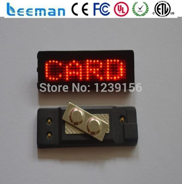 Leeman mini led display Flashing light mini outdoor programmable led sign,led open sign,outdoor led sign board