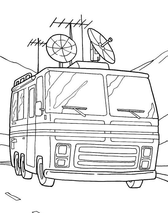 14 best coloriages camping car pour enfant images on pinterest coloring pages and for kids - Coloriage top 14 ...