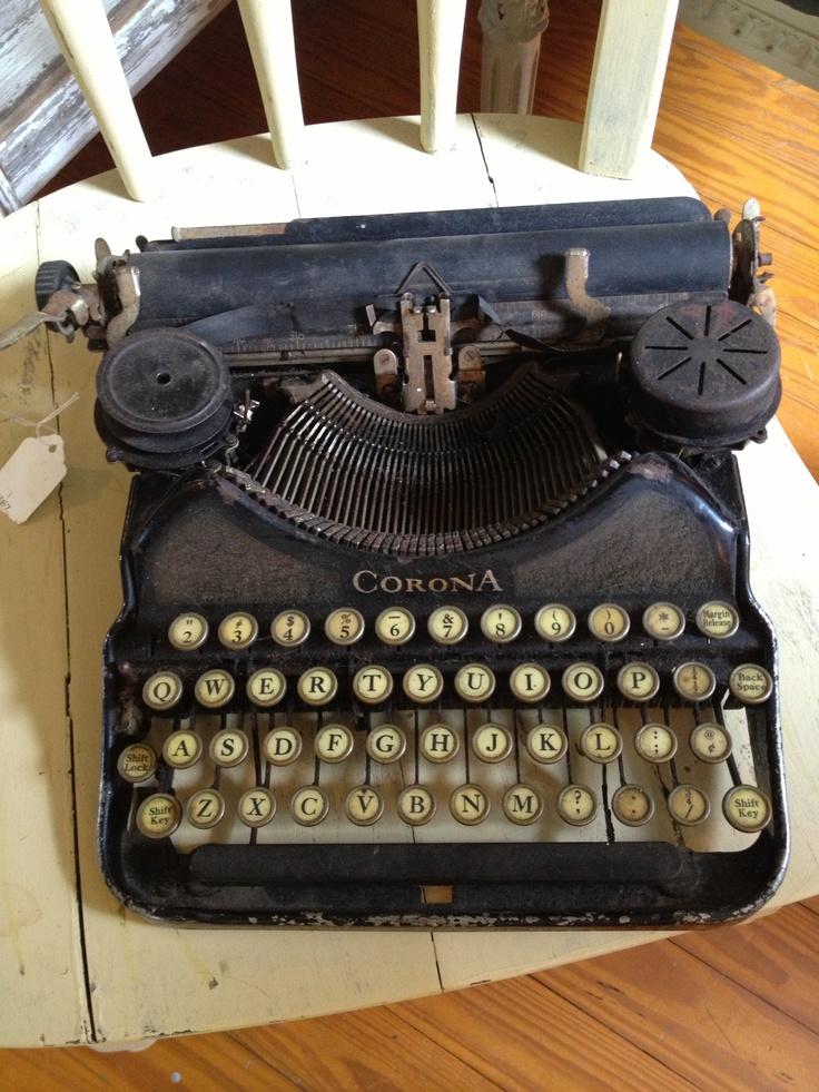 Vintage typewriter                                                                                                                                                                                 More