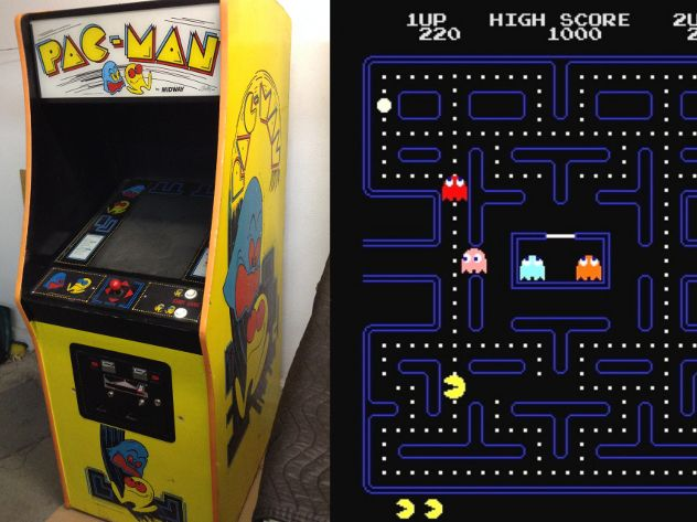 Pac-Man is an arcade game developed by Namco and first released in Japan in May 1980.It was created by Japanese video game designer Toru Iwatani. It was licensed for distribution in the United States by Midway and released in October 1980.